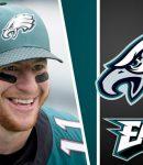 Carson Wentz Smiling Eagles