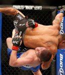 Khabib Nurmagomedov Taking Down Abel Trujillo - MMA Logo