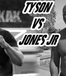 Mike Tyson and Roy Jones Jr