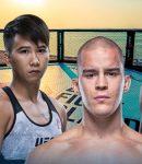 Dusko Todorovic, Charles Jourdain, Yorgan De Castro and Loma Lookboonmee - UFC Fight Island Background
