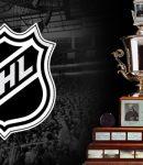 Jack Adams Award Trophy and NHL Logo