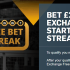 Banner showing the Betfair Exchange free bet offer