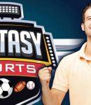 Fantasy Sports Logo And Excited Man Who Enjoys Fantasy Sports