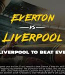 Banner showing the 25/1 price boost on Liverpool to beat Everton
